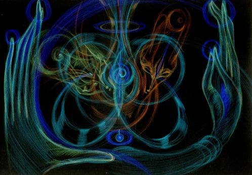 соединение внимания в пространстве вдохновения ч1