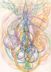 движение в пространстве потоков созидания 2